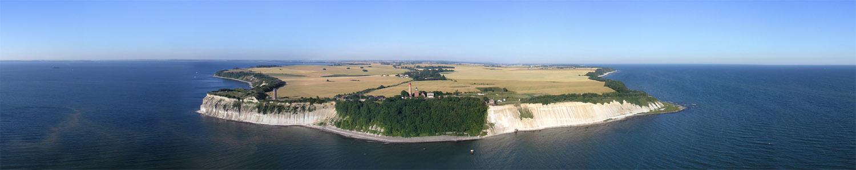 Rügen - Luftbild Kap Arkona