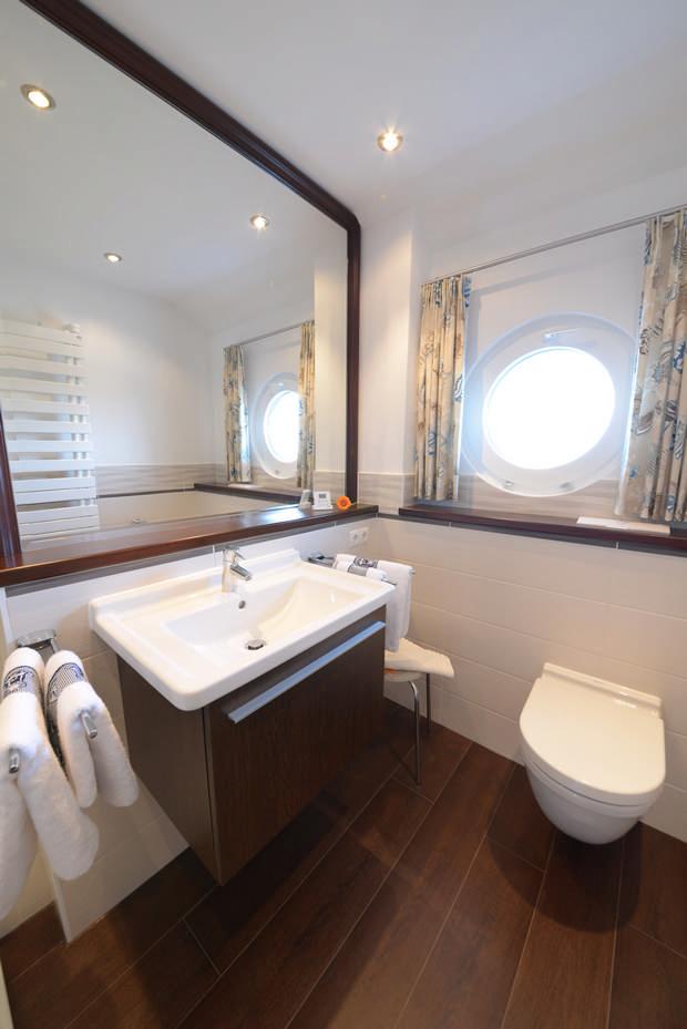 Badezimmer Haus Hiddensee